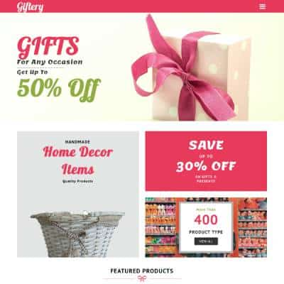 Vividsol-website-builder-theme-giftery