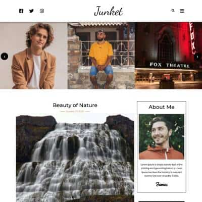 Vividsol-website-builder-theme-junket