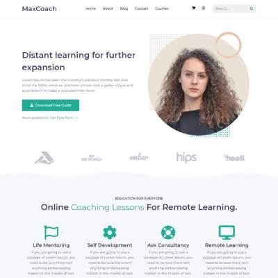 Vividsol-website-builder-theme-maxCoach