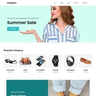 Vividsol-website-builder-theme-shopium
