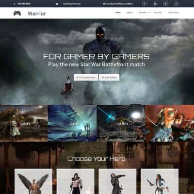 Vividsol-website-builder-theme-warrior